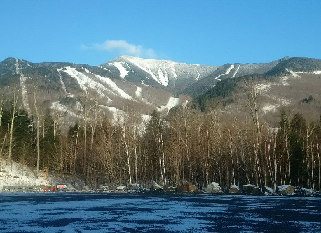 Whiteface Mountain in the winter