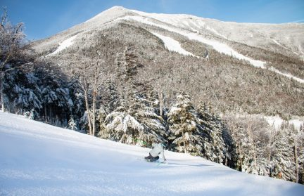 Andrew Weibrecht cruises down Whiteface Mountain