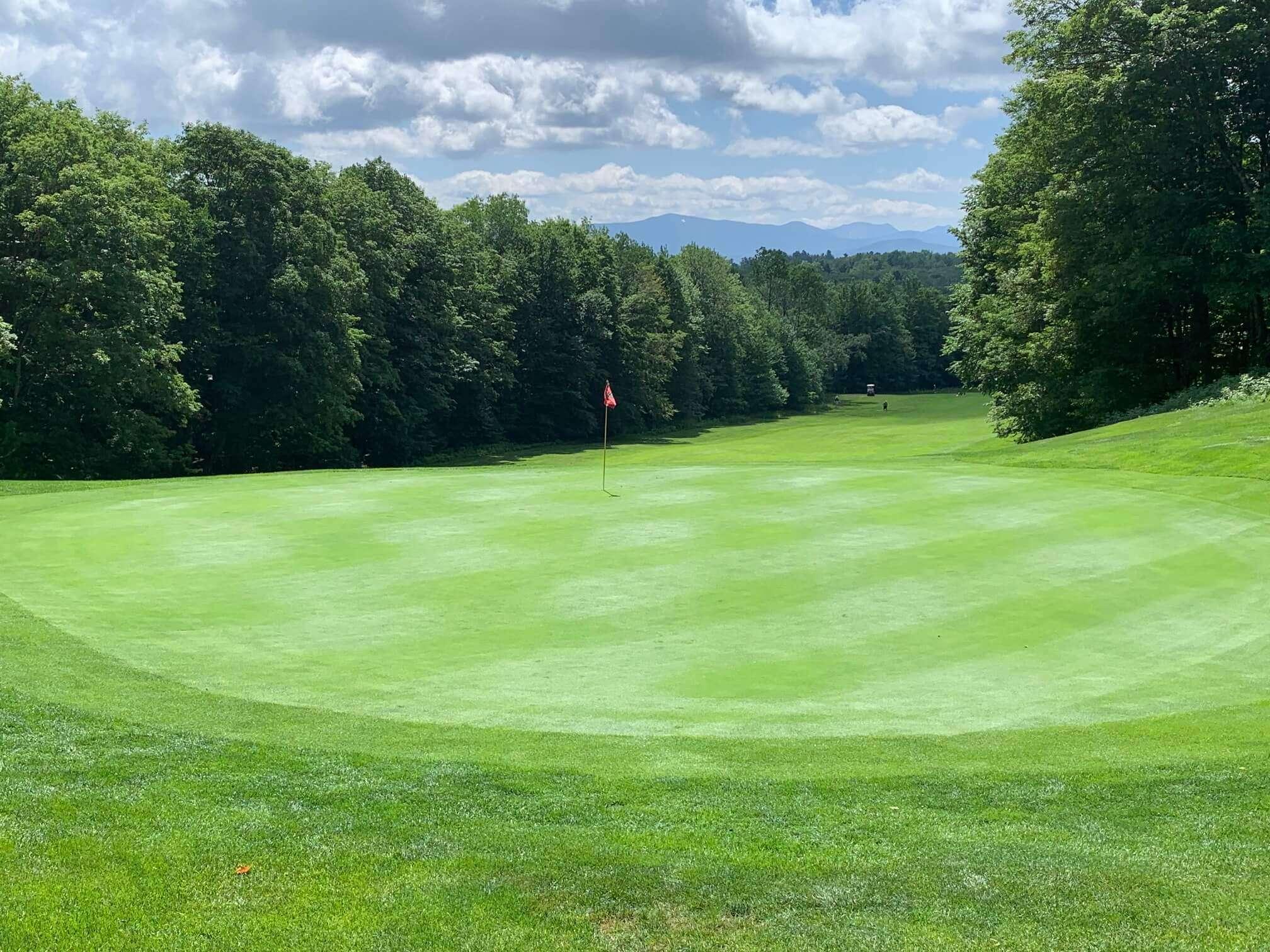 Sparse golf club in the Adirondacks