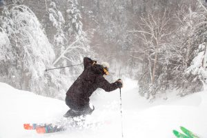 Tackling Whiteface Mountain in Upstate New York on a powder day