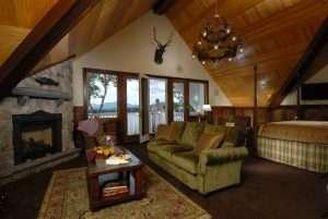 Room on lake
