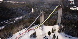 Lake Placid ski jumping towers